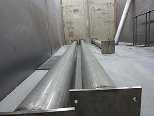 Sandstrahlen Stahlrohre