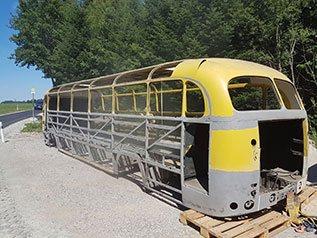 Oldtimer Bus nachher