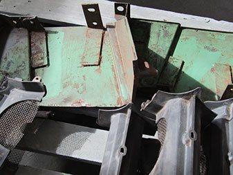 Stahlteile vorher